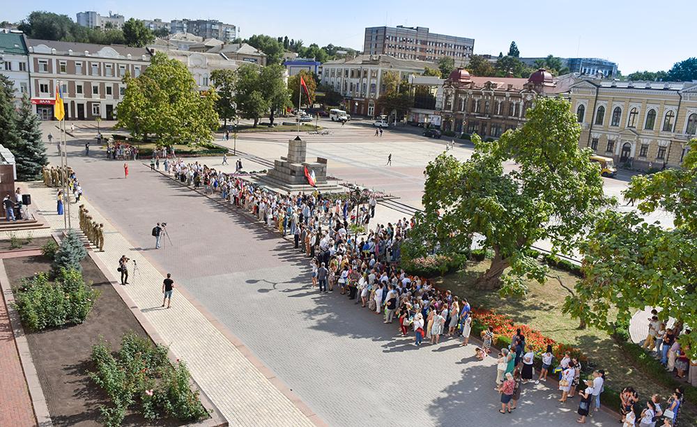 У Кропивницькому відбулися офіційні заходи з нагоди Дня прапора та Дня Незалежності України. ФОТО - 1 - Події - Без Купюр