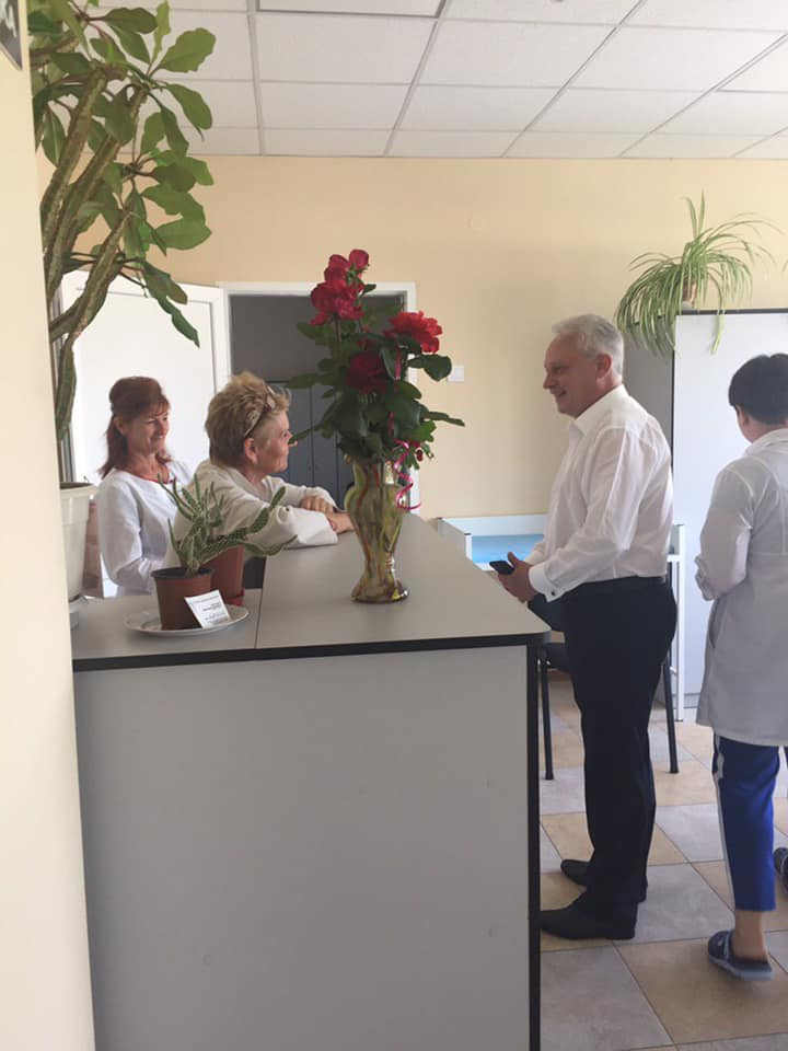 У новозбудованій сільській амбулаторії на Кіровоградщині почала працювати молода лікарка. ФОТО - 1 - Здоров'я - Без Купюр