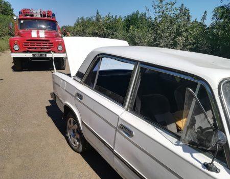 На Кіровоградщині машина внаслідок ДТП перевернулася на дах