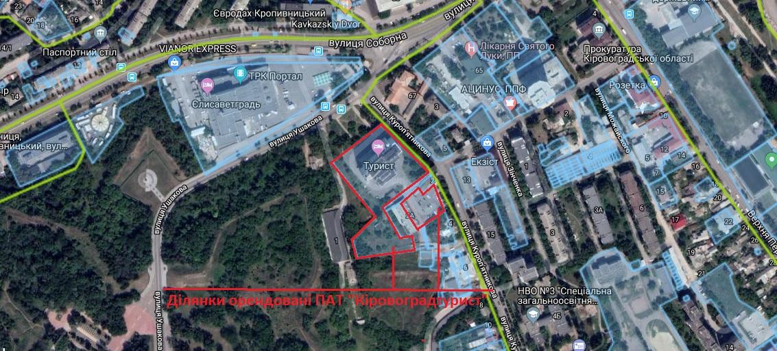 Фірма-власник готелю «Турист» сплатить міськраді 195 тисяч «земельного» боргу - 1 - Земля - Без Купюр
