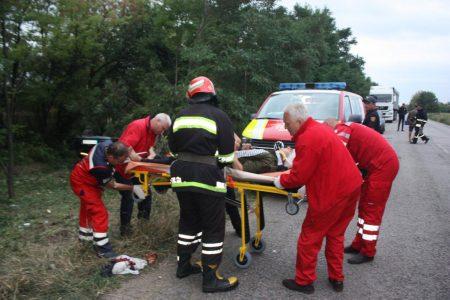 На Кіровоградщині внаслідок ДТП постраждало дві людини. ФОТО