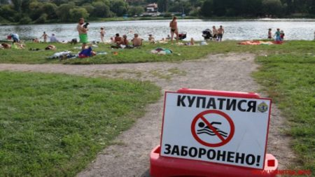 На 9 пляжах Кіровоградщини вода не відповідає нормам