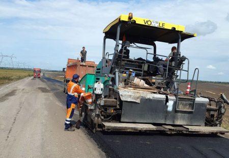 На Кіровоградщині продовжується ремонт дороги державного значення