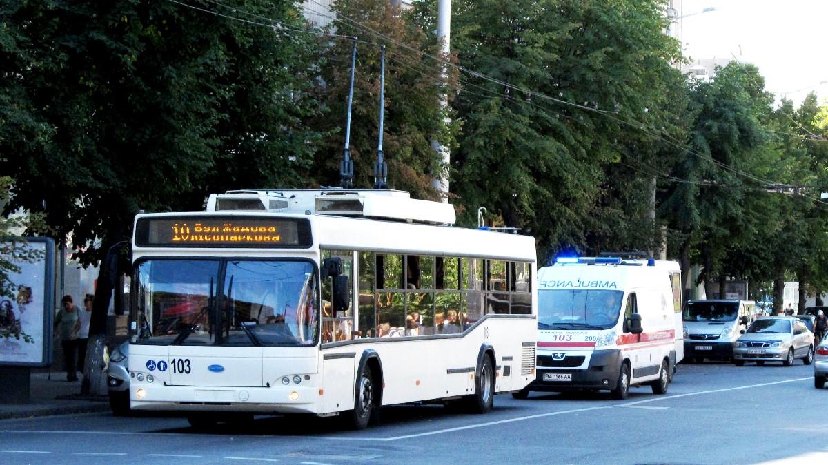 Без Купюр Кропивницький: автобуси 103, 123, 130 та тролейбус №8 тимчасово змінять маршрути Транспорт  тролейбус рух маршрут Кропивницький автобус 2020 рік