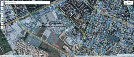 Оренда землі під можливою заправкою в Кропивницькому стартує з 2,4 гривень за метр