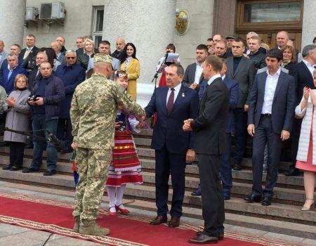 У Кропивницькому відбулись урочистості з нагоди 265-ї річниці міста. ФОТО