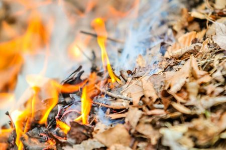На Кіровоградщині через спалювання сухої трави 6 сіл залишились без електропостачання
