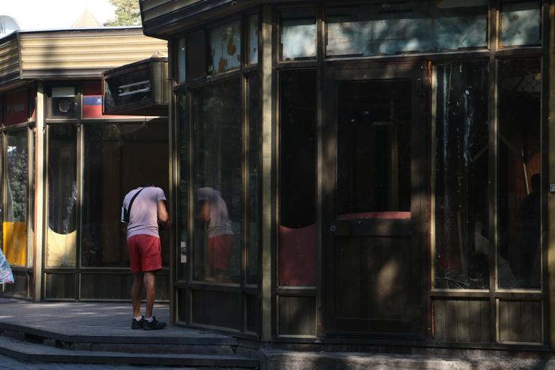"""Без Купюр Замість """"Золотих куполів"""" у Центральному сквері Кропивницького може з'явитися дитяче кафе. ФОТО Бізнес  Кропивницький золоті куполи"""