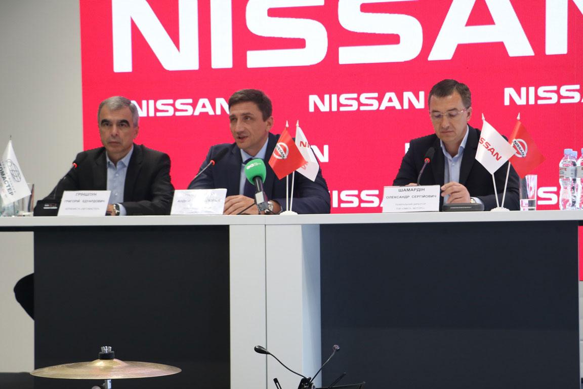 Без Купюр У Кропивницькому до Дня міста відкрили один із найсучасніших в Україні дилерських центрів «NISSAN». ФОТО PR  Олександр Шамардін Кропивницький брифінг Renault Nissan