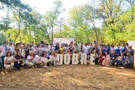 На Фестивалі добрих практик-2019 громади ділилися досвідом реалізації місцевих ініціатив. ФОТО