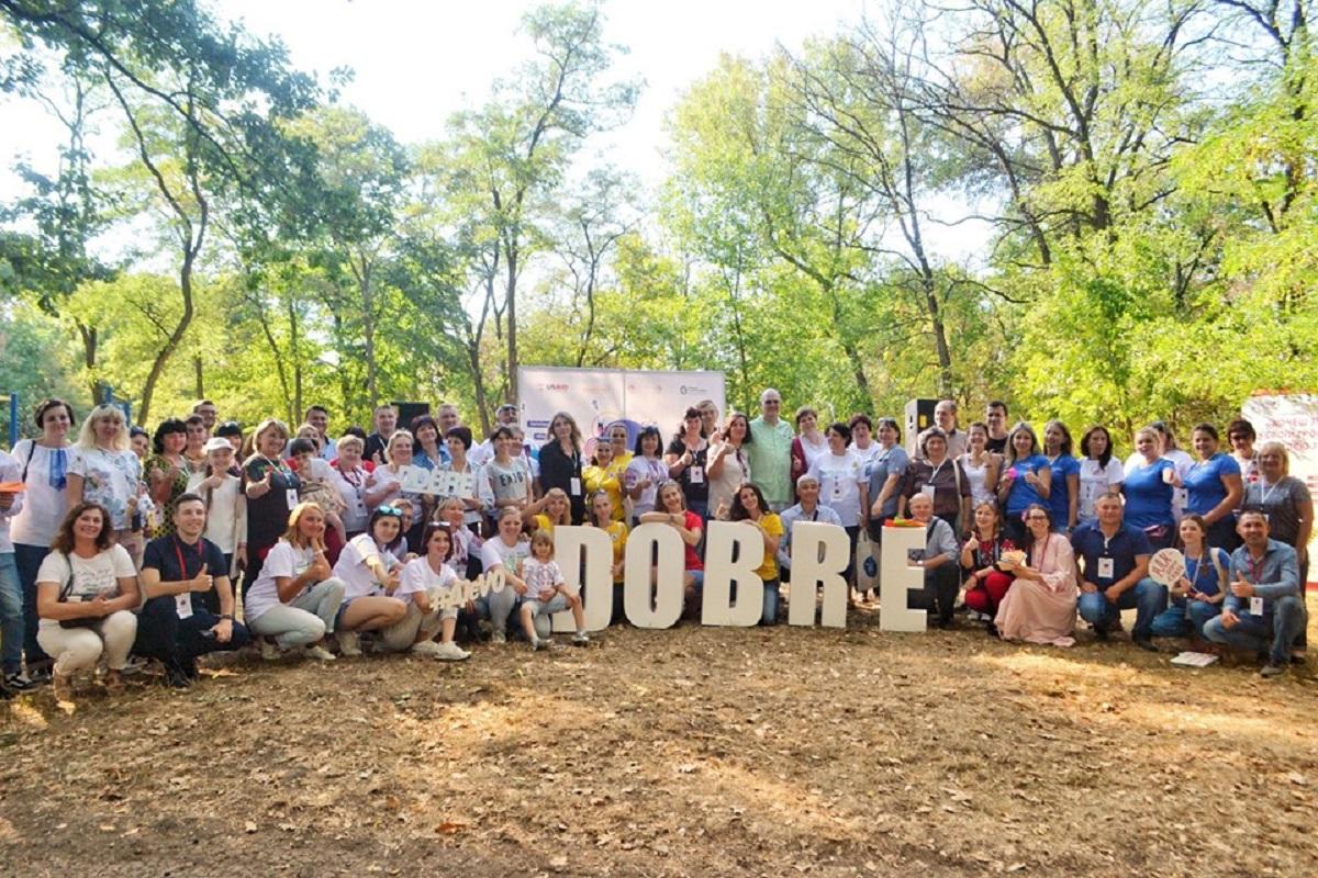 На Фестивалі добрих практик-2019 громади ділилися досвідом реалізації місцевих ініціатив. ФОТО - 1 - Децентралізація - Без Купюр