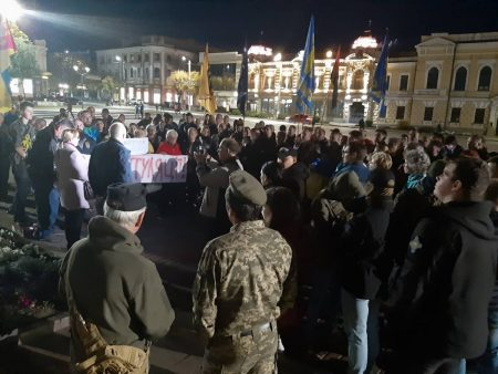 """У Кропивницькому відбулась акція """"Ні – капітуляції"""". ФОТО. ВІДЕО"""