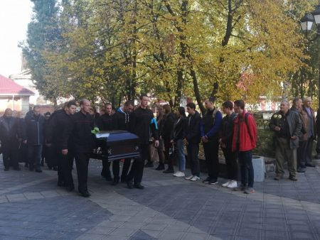 У Кропивницькому попрощалися з Володимиром Панченком. ФОТО