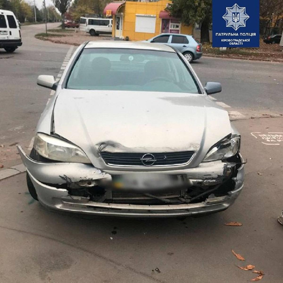 Без Купюр У Кропивницькому, після скоєння ДТП, водій намагався уникнути відповідальності За кермом  Патрульна поліція ДТП