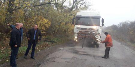 На Кіровоградщині почали ремонт аварійного відрізка дороги у напрямку Новоукраїнки