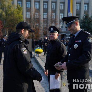 108 курсантів з Кіровоградщини присягнули на вірність українському народові. ФОТО