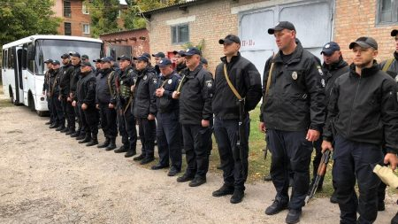 Кіровоградщина: поліцейські відбули на ротацію до зони проведення ООС