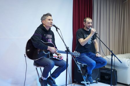 «Для мене музика – це машина часу» – лідер гурту «МЕРІ» Віктор Винник у Кропивницькому