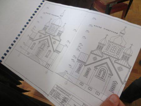На Кіровоградщині збудують храм ПЦУ. ФОТО