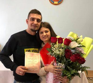 Кіровоградщина: колишній полонений моряк Андрій Артеменко одружився. ФОТО