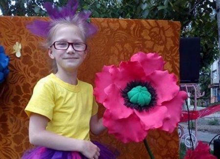 Дівчинці з Кіровоградщини потрібні донори з четвертою групою крові