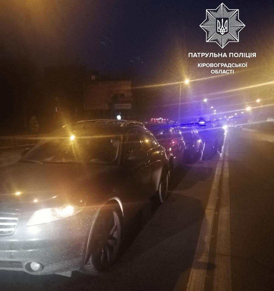 Без Купюр У Кропивницькому зіштовхнулись 4 автівки. ФОТО За кермом  ДТП вулиця Тельнова