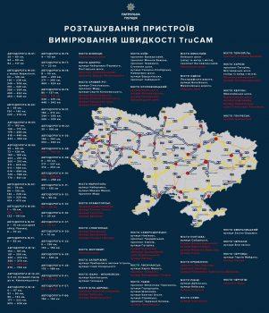 У Кропивницькому встановлять перші TruCAM для контролю швидкості