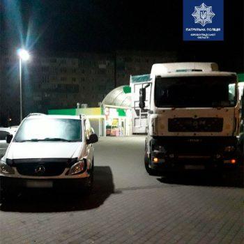 У Кропивницькому нетверезий водій вантажівки спричинив ДТП з легковиком