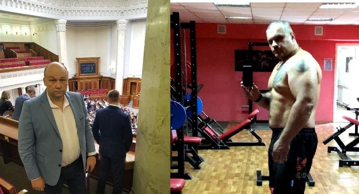 Без Купюр Підприємець і громадський активіст потрапив до лікарні після «чоловічої розмови» з депутатом Кримінал  Тімур Хакімов конфлікт Валерій Волошин