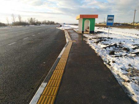 Кіровоградщина: на дорозі Н-14 завершили встановлювати вбиральні та автопавільйони