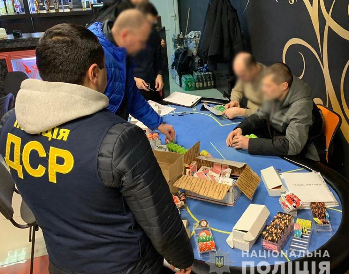 Без Купюр За добу на Кіровоградщині поліцейські припинили діяльність 4 гральних закладів Кримінал  Кропивницький гральний бізнес