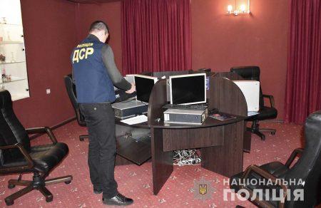 За добу на Кіровоградщині поліцейські припинили діяльність 4 гральних закладів