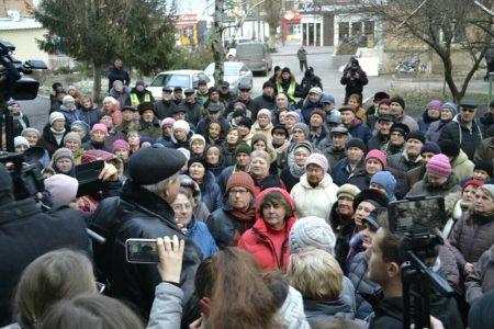 Новенські депутати не прийшли на сесію, присвячену приєднанню селища Нового до Кропивницького. ФОТО