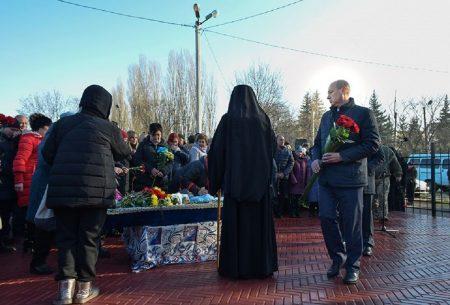 У Кропивницькому попрощались із загиблим на Сході Василем Лісіциним