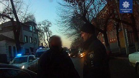 У Кропивницькому затримали водія, який ледь тримався на ногах