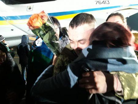 Троє військових із Кіровоградщини повернулися з полону. ФОТО