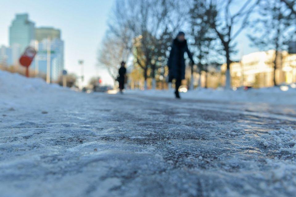 Без Купюр Завтра в Кропивницькому та області на дорогах очікується ожеледиця Погода  погода обласний центр гідрометеорології Кіровоградщина