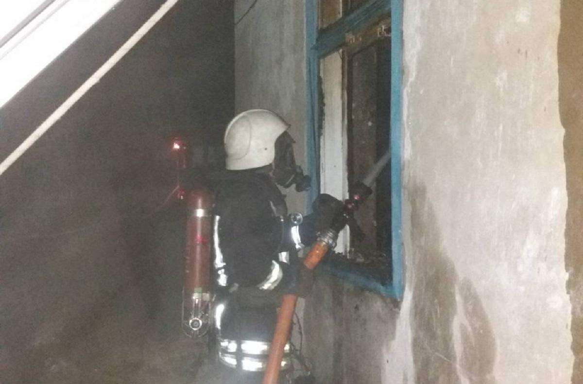 Без Купюр Під час пожежі на Кіровоградщині знайшли тіло чоловіка Життя  пожежа ДСНС
