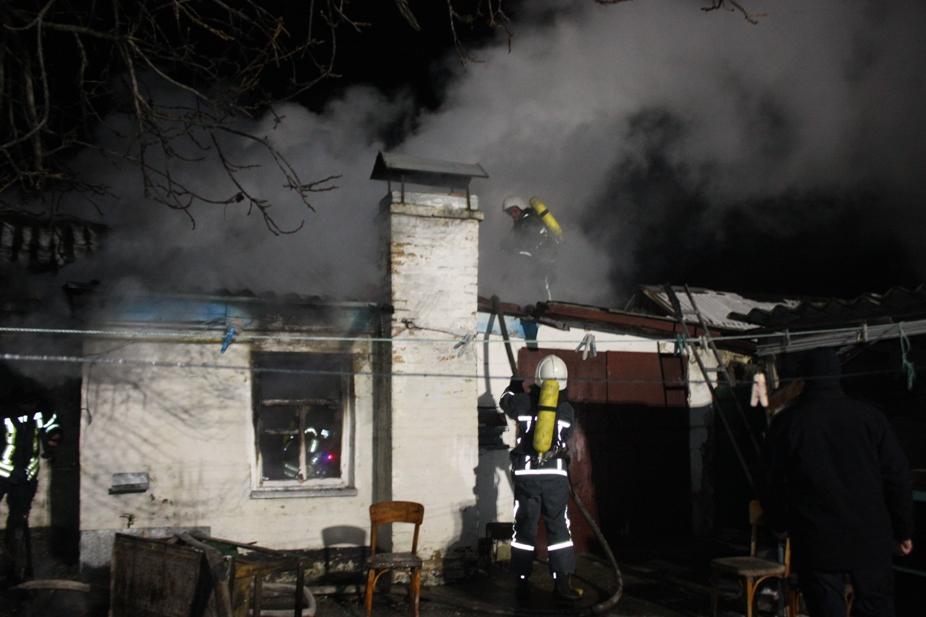 Без Купюр У Кропивницькому під час пожежі постраждав чоловік. ФОТО Події  пожежа ДСНС