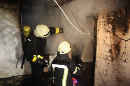 У Кропивницькому під час пожежі постраждав чоловік. ФОТО