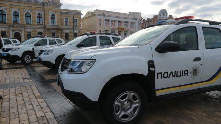 Поліцейські 11 ОТГ Кіровоградщини отримали нові машини