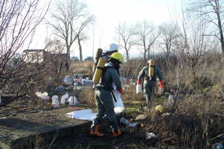 У Приютівській громаді ліквідували звалище агрохімічних відходів. ФОТО