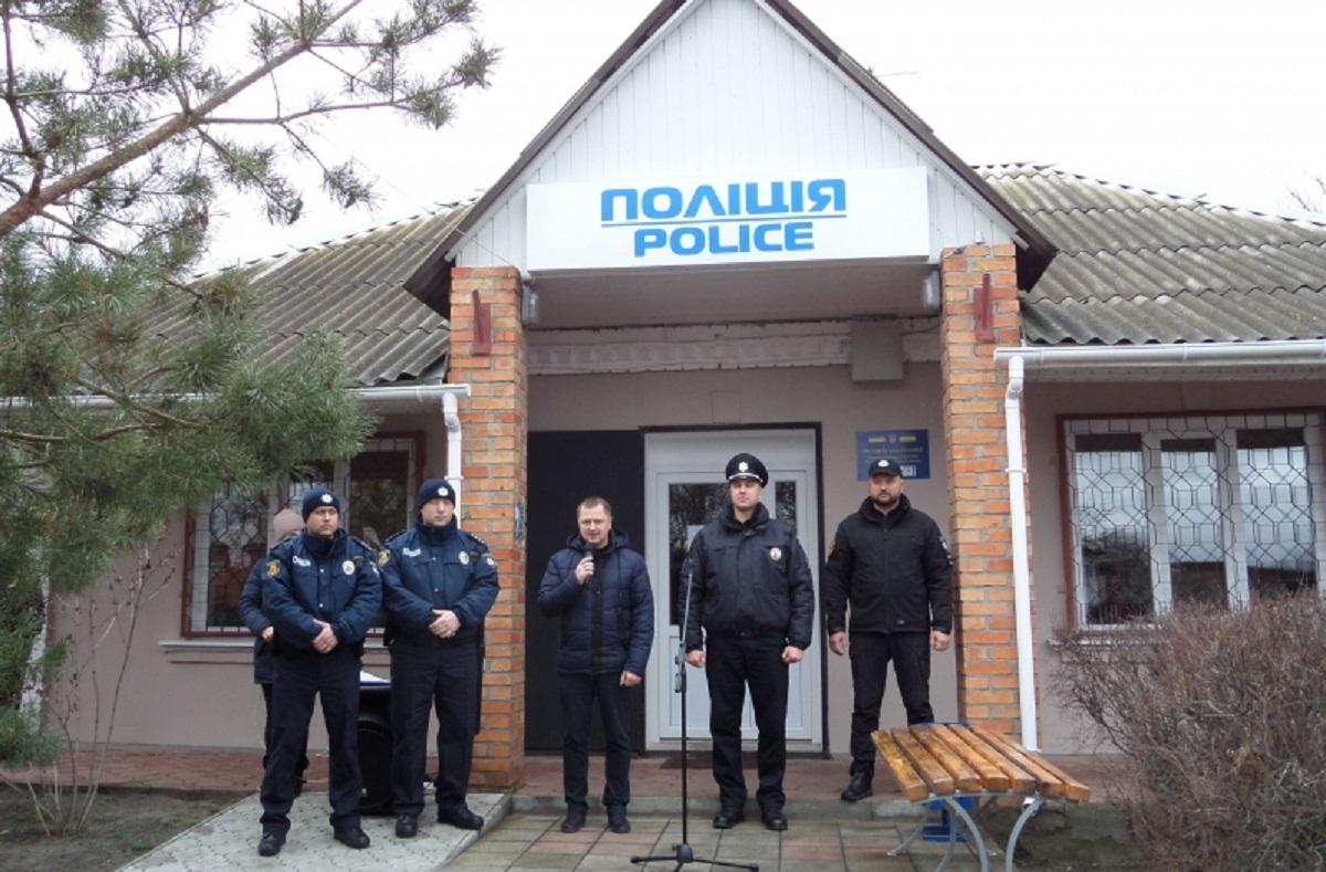 Без Купюр У Приютівській ОТГ відкрили поліцейську станцію Життя  Приютівська ОТГ Кіровоградщина