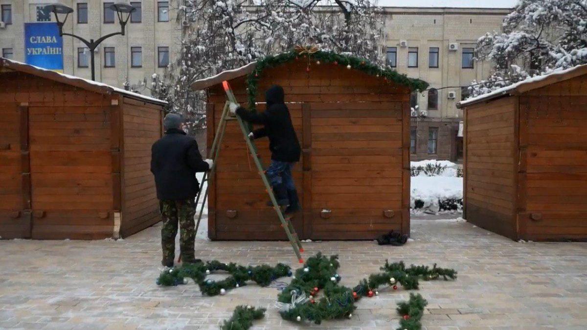 Без Купюр Цього тижня у Кропивницькому з'явиться новорічне містечко Події  ялинка новорічне містечко Новий рік