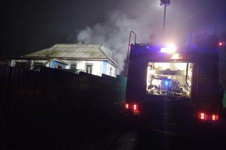 Кіровоградщина: під час пожежі чоловік отруївся чадним газом