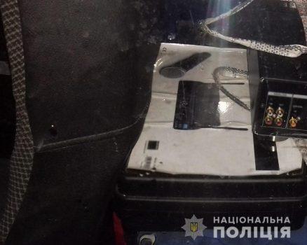 На Кіровоградщині поліцейські затримали серійних крадіїв. ФОТО