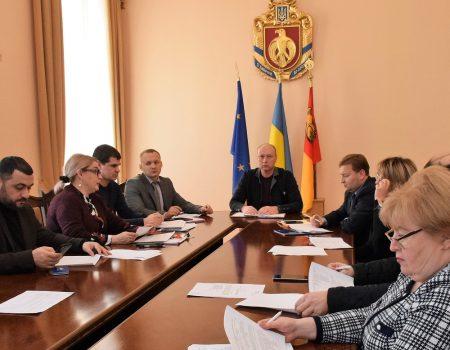 У 2020 році на Кіровоградщині реалізовуватимуть 10 проєктів регіонального розвитку