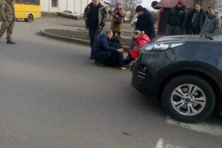 У Кропивницькому водійка збила хлопця на пішохідному переході. ФОТО