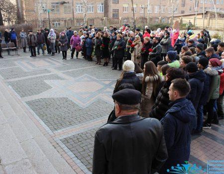 У Кропивницькому вшанували пам'ять жертв Голокосту. ФОТО