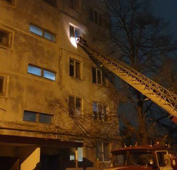 У Кропивницькому по вулиці Бєляєва горіла квартира. ФОТО